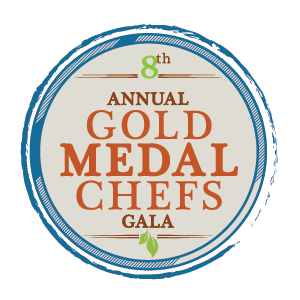 8th annual Gold Medal Chefs Gala logo