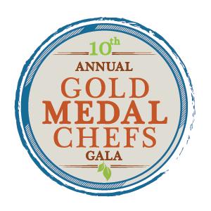 10th annual Gold Medal Chefs Gala logo